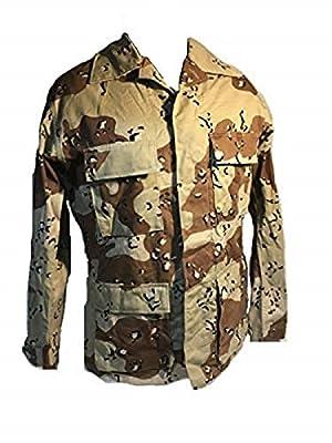USGI Real Desert Storm 6 Color BDU TOP Small/Regular Shirt Army