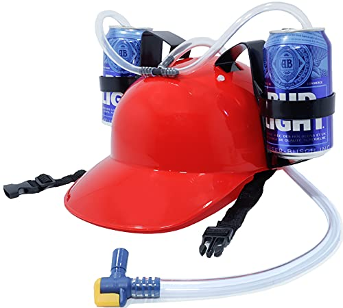 New and Improved Beer Helmet Drinking Hat, The...