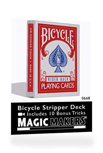 Preisvergleich Produktbild Rock Ridge Magic Bicycle Trickkartenspiel,  konisches Deck / Stripper Deck