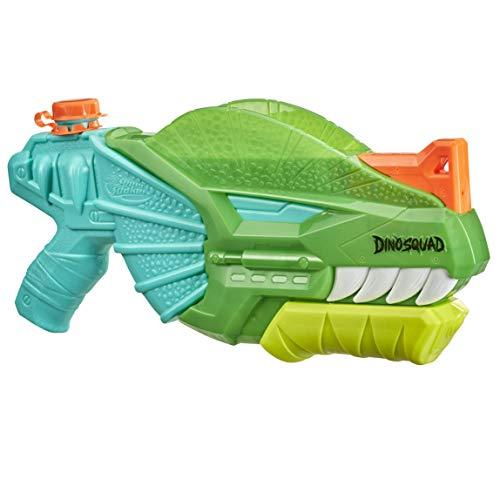 Nerf Super Soaker DinoSquad Dino-Soak Water Blaster - Pump-Action...