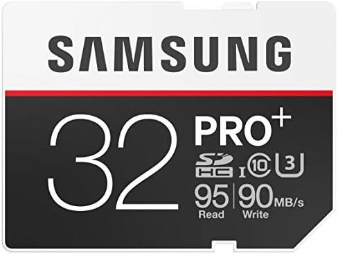 Samsung Speicherkarte Sdhc 32gb Pro Plus Uhs I Grade U3 Computer Zubehör