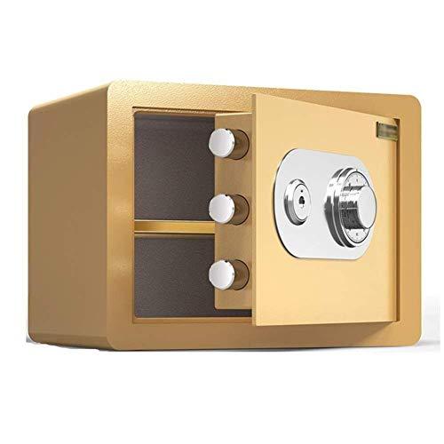 QNN Cajas de Seguridad Caja de Seguridad Cajas Fuertes de Armario Caja Fuerte para el Hogar Cajas Fuertes de Armario Electrónico Caja Fuerte Caja Fuerte de Pared con Llave, Hucha Documentos Montados
