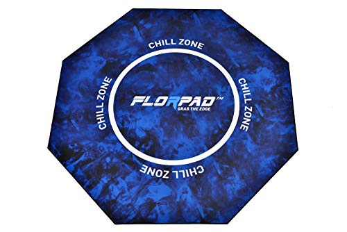 Florpad - Chill Zone Teppich, 120 x 120 cm