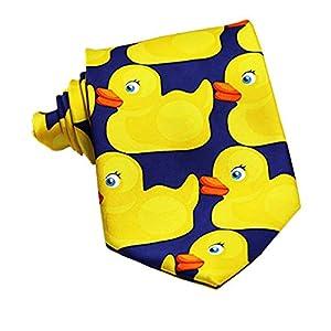 Cloth Accessay Cosplay Bow Tie Yellow Duck Necktie Business Suit Tie Neckwear Accessories Show Wedding Tie