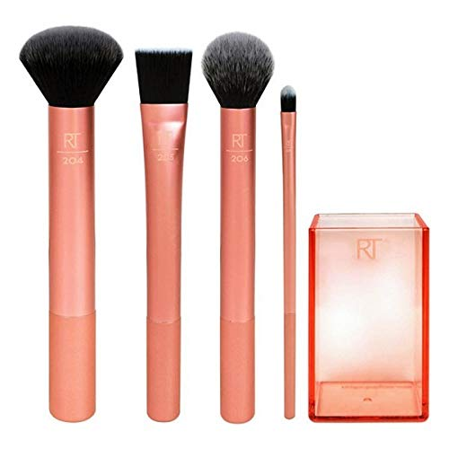 Real Techniques Flawless Base - Set de 4 brochas para maquillaje