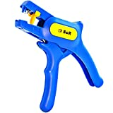 S&R Pinza Spelafili Automatica 0,2-6 mm² Spelacavi Professionale Rapida da 0,2-6 mm² AWG...
