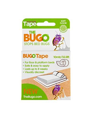 The Bugo Bugo Absperrband 10 m Weichbodendetektor, Monitor und Falle für, plastik, durchsichtig
