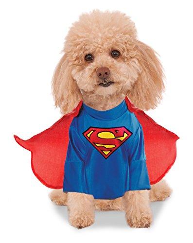 DC Comics Déguisement Superman pour Animal Domestique Taille L