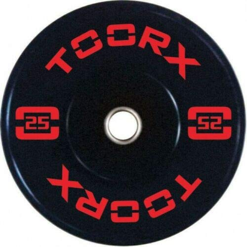 Toorx Disco Olimpico Bumper Training da 25 kg - Foro 50 mm