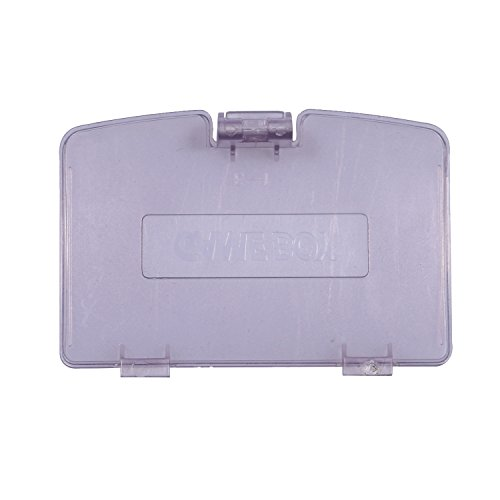 Timorn sostituzione coperchio del vano batteria per Nintendo Game Boy Color (Viola trasparente)