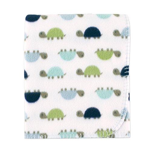 Price comparison product image Luvable Friends Unisex Baby Fleece Blanket,  Turtle