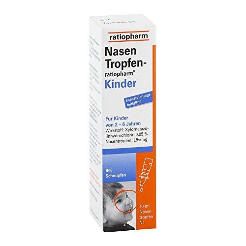 NASENTROPFEN-ratiopharm Kinder Konservier.frei 10 ml Nasentropfen