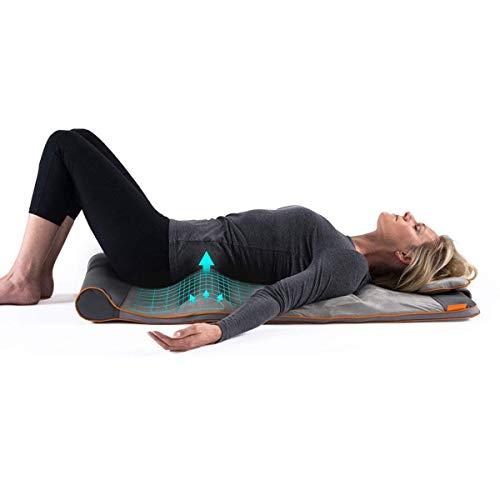 HoMedics Stretch Tappetino Yoga con Lato Posteriore Regolabile, Rilassante, Ottimiza la Flessibilità, 4 Programmi di Trattamento Integrati, Design Pieghevole e Cinghie per Facile Conservazione