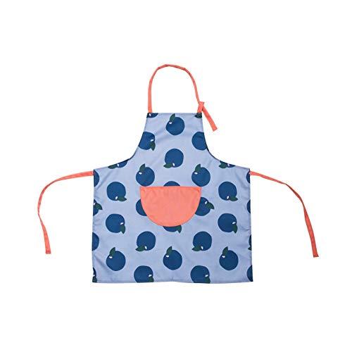Delantal de cocina para el hogar delantal sin mangas ajustable delantal (Color : Grey)