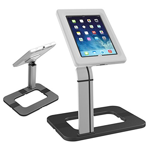 "Maclean MC-644 - Soporte de sobremesa para Tablet iPad 2/3/4/Air Galaxy 9.7""-10.1"" con Estuche antirrobo"
