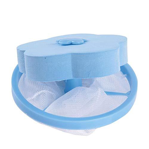 Henreal Draagbare Charpie-sensor, pluche, netstof, drijvend, voor wasmachine, herbruikbaar