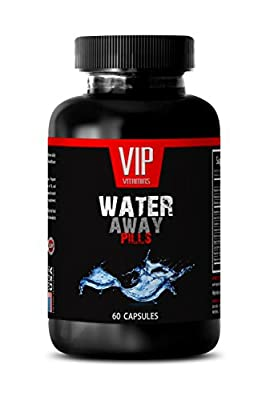 Natural Diuretic - Water Away Diuretic Pills - Natural Supplements - 1 Bottle 60 Capsules
