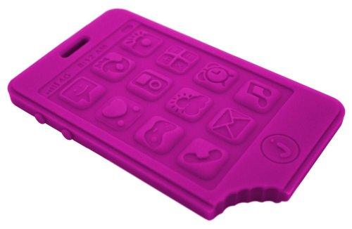 Smart Phone Teether by Jellystone - Purple People Eater