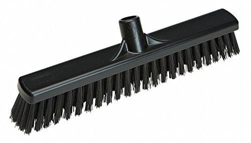 VIKAN Black Polyester Fine Sweeping Combo Floor Broom