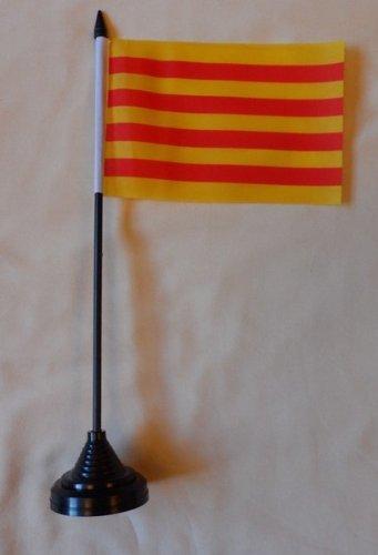 Frankrijk Catalonië Tafelbureau Vlag