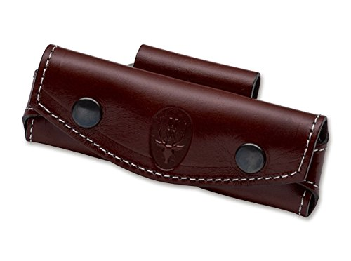 Muela Erwachsene LEDERETUI BRAUN Etui F. Taschenmesser, One Size