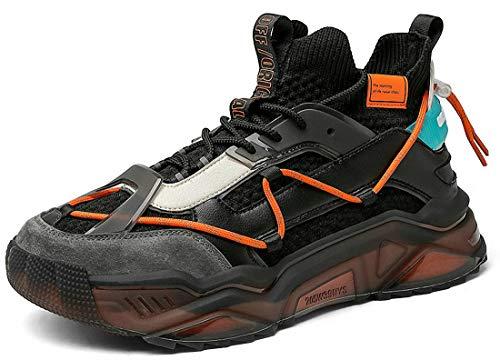 Zapatillas de running para hombre y mujer, zapatillas de deporte a la moda, color Multi, talla 43 EU