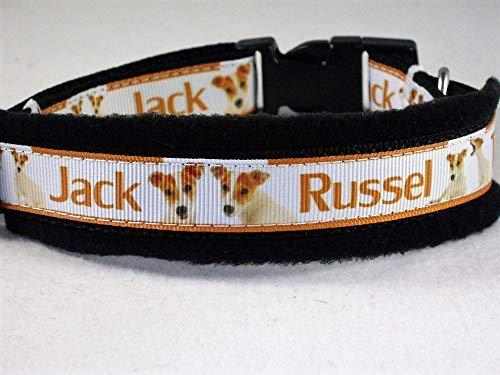 Halsband Jack Russel Terrier Größe SM 35-40 cm Halsumfang