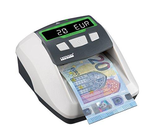 ratiotec 00064480 Soldi Smart Pro Automatisches Banknotenprüfgerät mit Display Grau