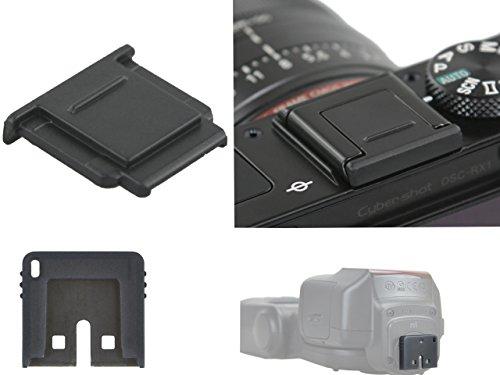 Blitzschuhabdeckung für Sony Multi Interface Shoe (MIS), sowie Multishoe Blitzgerät Kontaktschutz im Set z.B. für Sony SLT-a58, NEX-3N, NEX-6, a7, a7R, a7S, a3000, a6000,DSC-RX1, DSC-RX1R, DSC-RX10, DSC-HX50V, DSC-HX50, DSC-HX60V, DSC-HX60,DSC-RX-100II , RX-100IIII