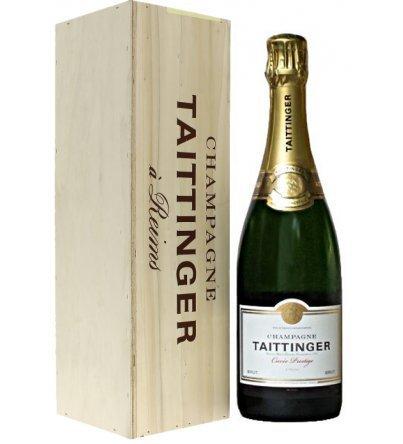Taittinger - Champagne Jéroboam Cuvée Prestige 3L Sous Coffret Bois