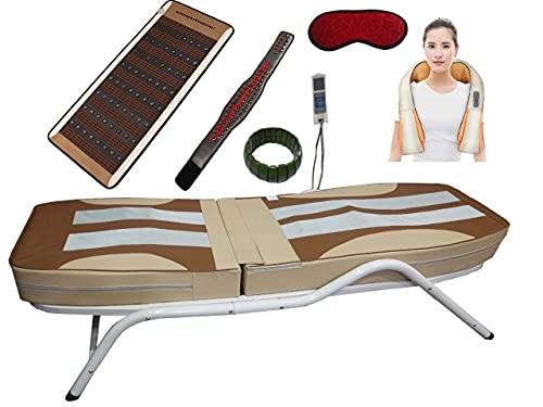 CAREFIT Full Body Jade Spine Therapy Thermal Massage Commercial Bed
