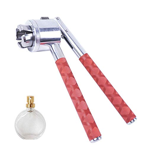 13mm Flip Off Vial Crimper, Sunda 1PCS Manual Perfume Vial Sprayer Crimper Bottle Sealing Machine Cap Capper Bottle Crimping Capping Tools