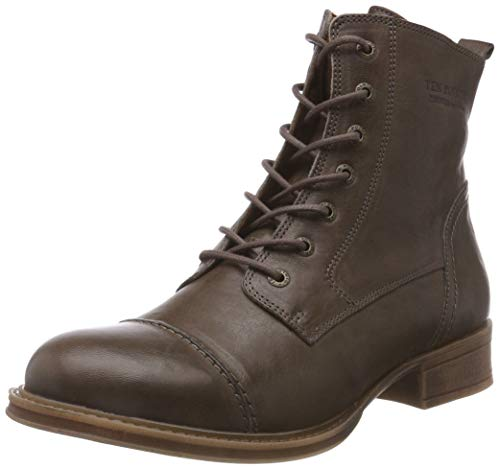 TEN POINTS Damen Pandora Stiefeletten, Grau (Taupe 356), 37 EU