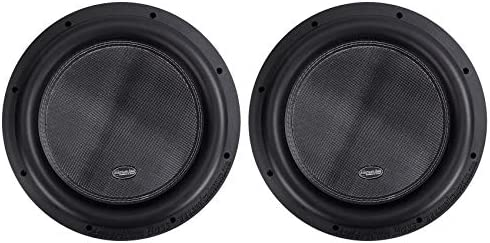 2 American Bass XR 12D4 2400 Watt 12 Competition Car Subwoofers w 3 Voices product image
