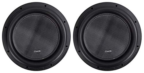 """(2) American Bass XR-12D4 2400 Watt 12"""" Competition Car Subwoofers w/3"""" Voices"""