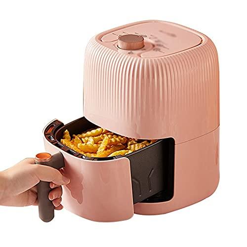 Freidoras Horno Eléctrico Sin Aceite Aire 6 En 1 Pantalla Táctil LED De Cocina Deshidratador De Asador De Pollos Aire Que Cocina (Color : Pink, Size : 24.3 * 19.8 * 28.2cm)