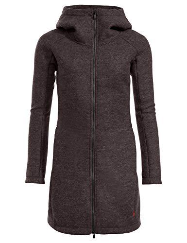 VAUDE Damen Women's Tinshan Coat III Jacke, Pecan Brown, 42