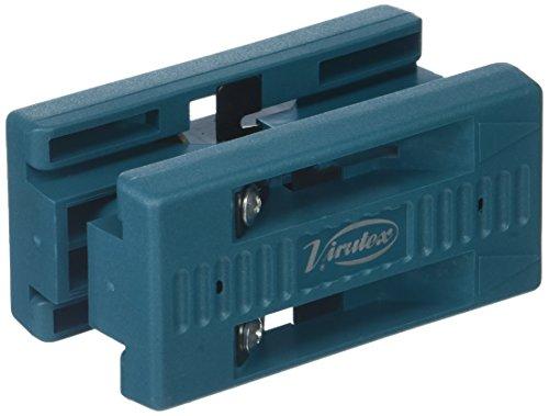 VIRUTEX 2800000 Perfilador de cantos doble au93, Azul, 0