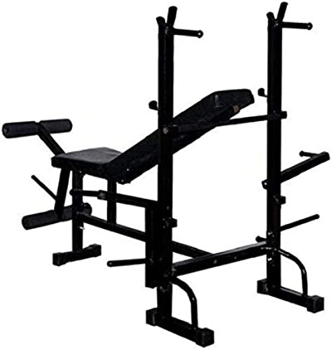 HEALTH FIT INDIA 8 in 1 With 320 Kg Holding Capacity Multipurpose Folding Fitness Bench Exercise Bench Home Gym Bench Physiotherapy Bench Medical Bench Weight Lifting Bench Multipurpose Bench Incline Bench Decline Bench Flat Bench Dips Bar Bench Leg Exerciser Bench Chest Press Bench