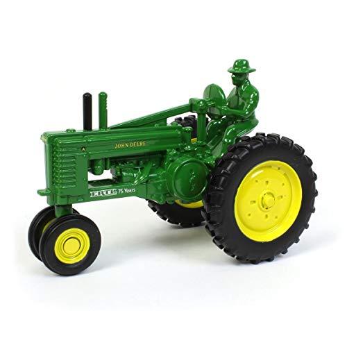 John Deere ERTL 75TH Anniversary 1:32 Scale Model A with Farmer 6.00' x 3.75' x 4.25'
