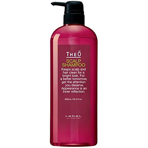 Lebel THEO Scalp Shampoo - 600ml (Green Tea Set)