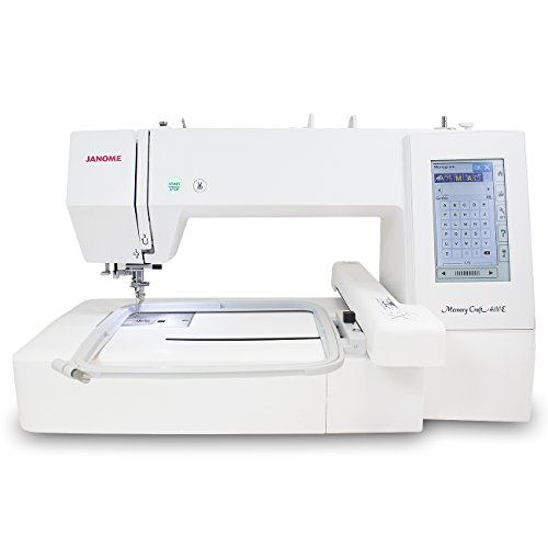 Janome Memory Craft 400E Embroidery...