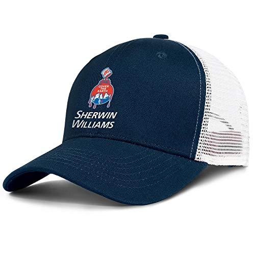Men Women Sherwin-Williams- Hat Fashion Adjustable Trucker Hat Baseball Cap