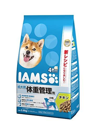 アイムス(IAMS)ドッグフード成犬用体重管理用小粒チキン2.6kg