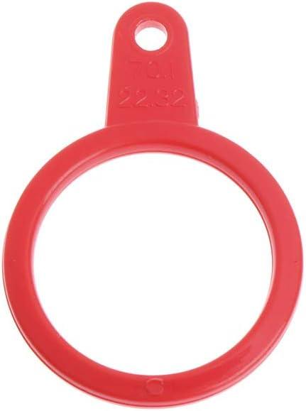 siwetg Mandrin de mesure en plastique pour la fabrication de bijoux Taille standard