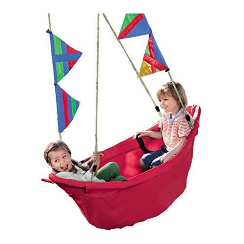 FYRMMD Columpio de Ocio Columpio para niños Columpio para Interiores y Exteriores Juguete para Colgar Góndolas Columpio de jardín, Silla Columpio (Asiento Columpio)