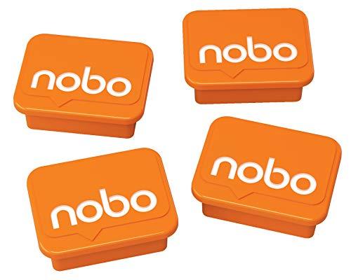 Nobo 1905327 Whiteboard Magnete (4) Orange