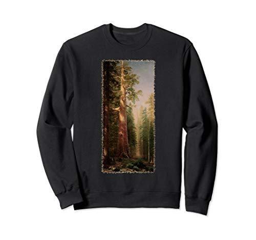 Riesenmammutbaum Redwood Bäume durch Albert Bierstadt Sweatshirt
