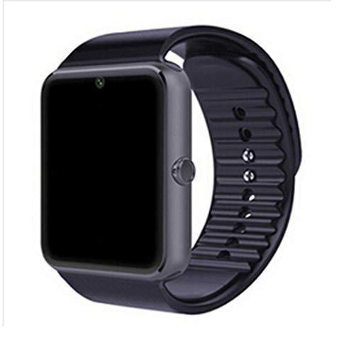 HHJEKLL Intelligente Uhr Bluetooth SmartwatchSmart Watch für iPhone 6 / Puls / 5S Samsung S4 / Note 3 HTC Android Smartphones Android Wear, Smartwatch schwarz