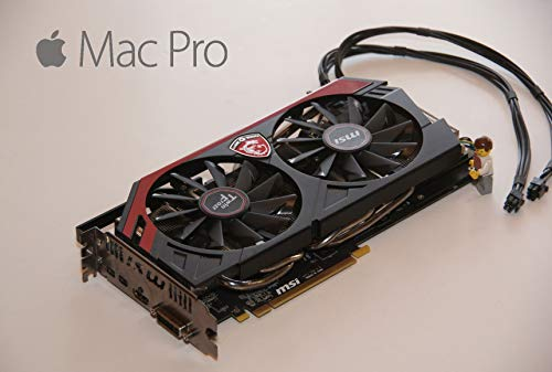 AMD Radeon R9 280 x 3 GB HD Graphics video card per Apple Mac Pro 2009 – 2012